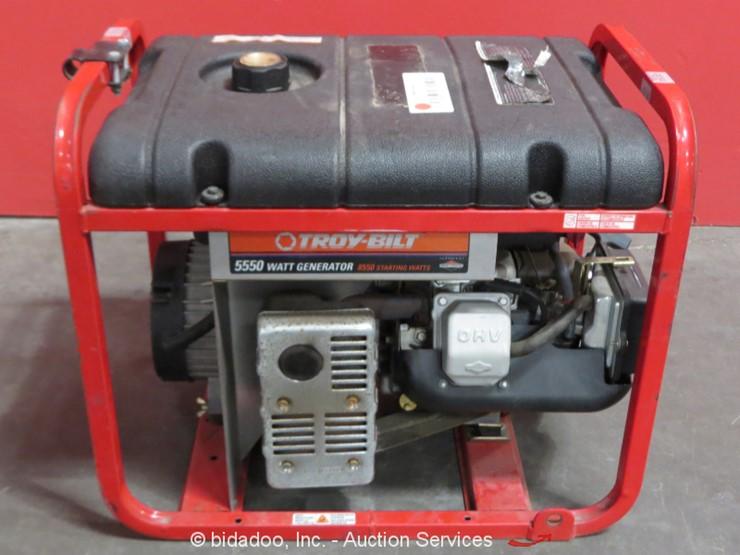 Troy-Bilt 01919 Generator - Lot #, Online Only Equipment