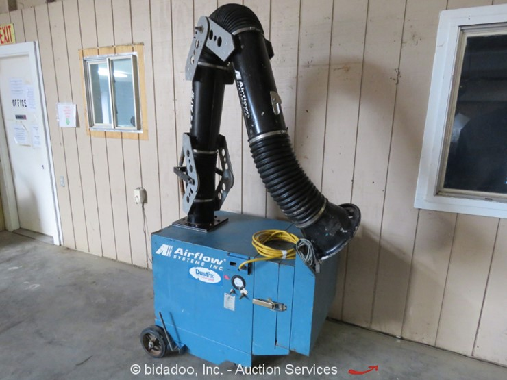 2000 Air Flow Systems PCH-1 - Lot #, Online Only Equipment Auction