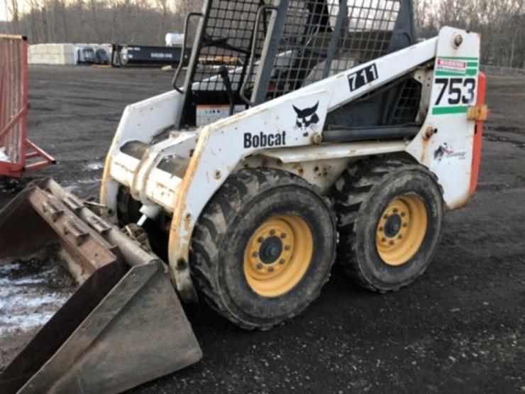 Bobcat 753 - Lot #720, Equipment Auction, 12/15/2018, RES Auction