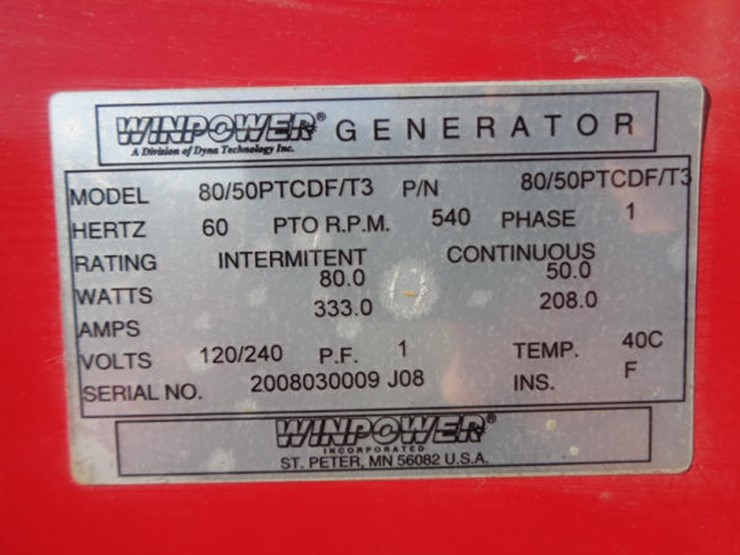 winpower 2018 serial number
