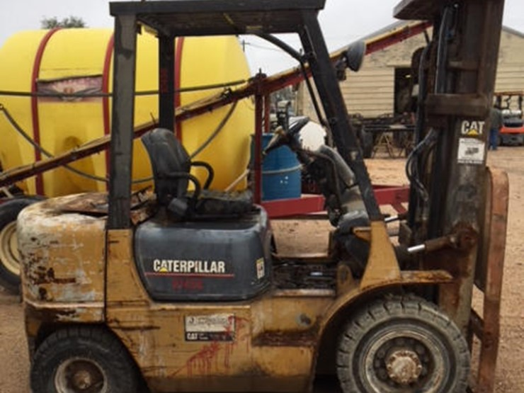 2002 Cat Forklift - Lot #282, Online Only Farm and
