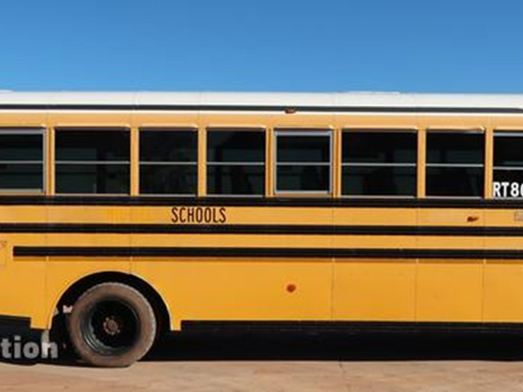 2009 Blue Bird Vision - Lot #FE9541, Online Only Vehicle and