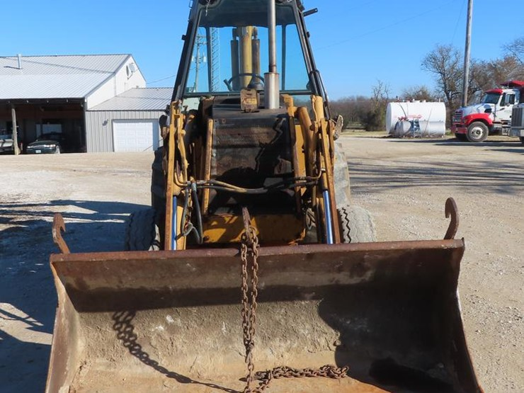 1982 Case 580D - Lot #DF1290, Online Only Aggregate and Construction