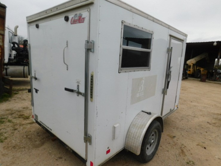 Cargo Small Office Trailer Lot 12521t Online Only Equipment Auction 12 27 2018 Mayer Auctioneering Auction Resource