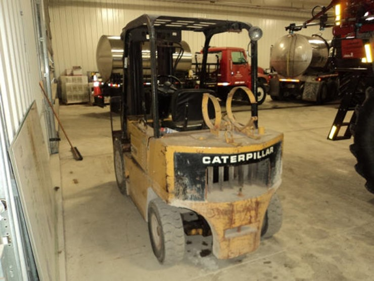 1993 Caterpillar V50D - Lot #90, Online Only Farm and