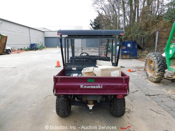 2015 Kawasaki MULE 4010 TRANS4x4