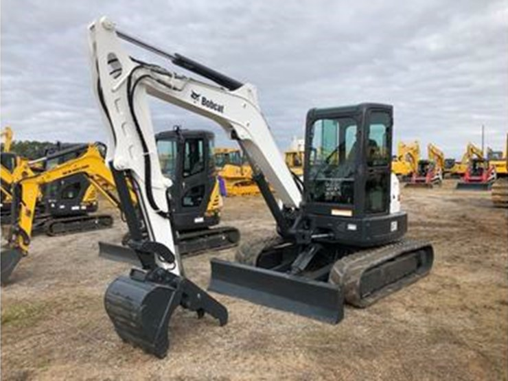 2013 Bobcat E50 - Lot #6262, Nine Day Equipment Auction