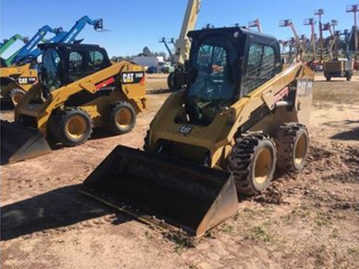 2016 Caterpillar 246D - Lot #3999, Nine Day Equipment Auction - Day