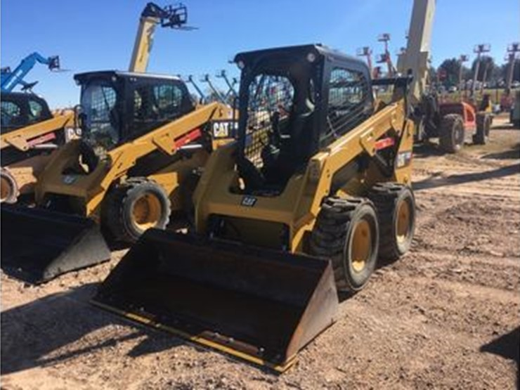 2017 Caterpillar 242D - Lot #4001, Nine Day Equipment