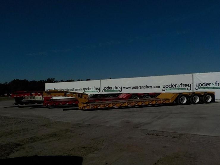 Witzco RG-50 100,000Lbs Load Capacity, 3 Axles c/w 48