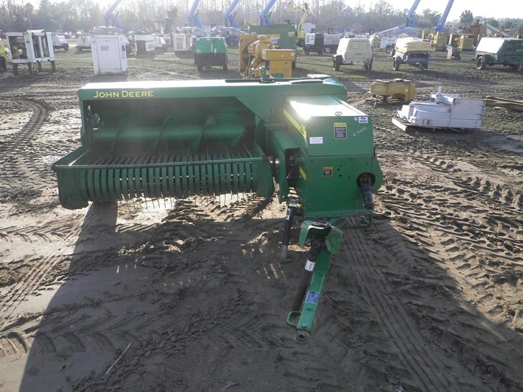 John Deere 328 - Lot #4001, Four Day Equipment Auction, 2/14