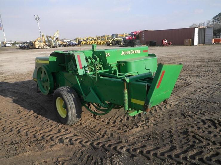 John Deere 328 - Lot #4001, Four Day Equipment Auction, 2/14