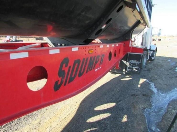 T-333 2018 Sidump'R 36' Trailer - Lot #105, Farm Equipment Auction