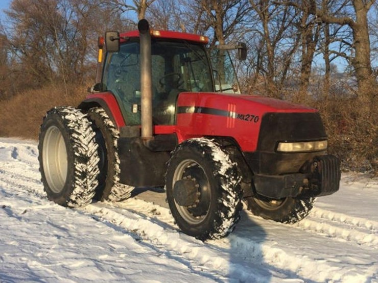 2000 Case Ih MX270 - Lot #186, Online Only Equipment Auction