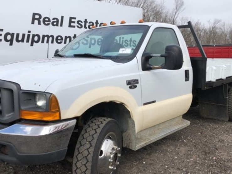 2000 Ford F550 - Lot #526, Equipment Auction, 3/2/2019, RES Auction