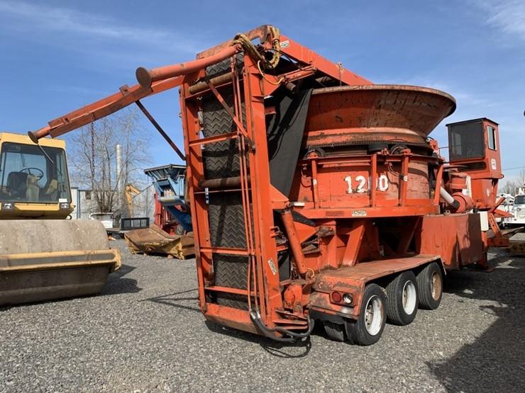 Morbark 1200 Towable Tub Grinder - Lot #TEMP3602, Heavy