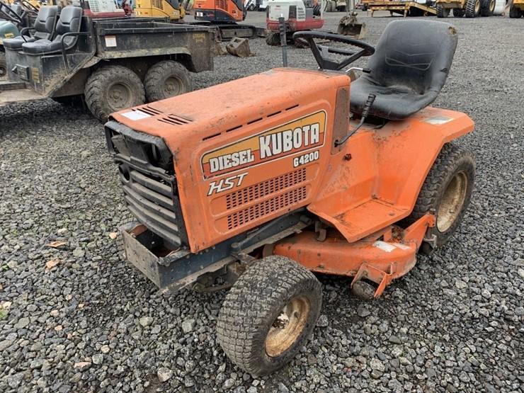 Kubota G4200 - Lot #TEMP3457, Heavy Equipment & Commercial