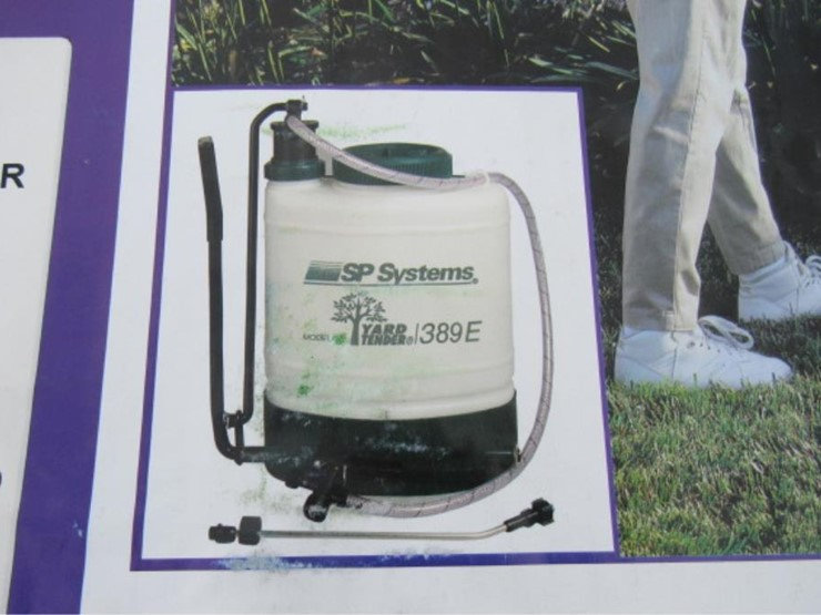 Commercial Series Backpack Sprayer - Lot #323, Equipment