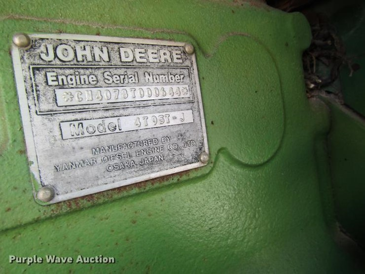 1984 John Deere 1650 - Lot #DF2513, Online Only Ag Equipment Auction