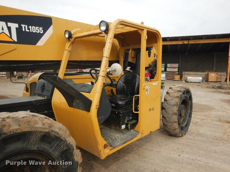 2007 Caterpillar TL1055 - Lot #BE9262, Online Only Construction