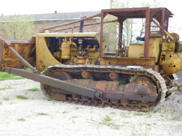Caterpillar D8 - Lot #4023, March Farm & Construction