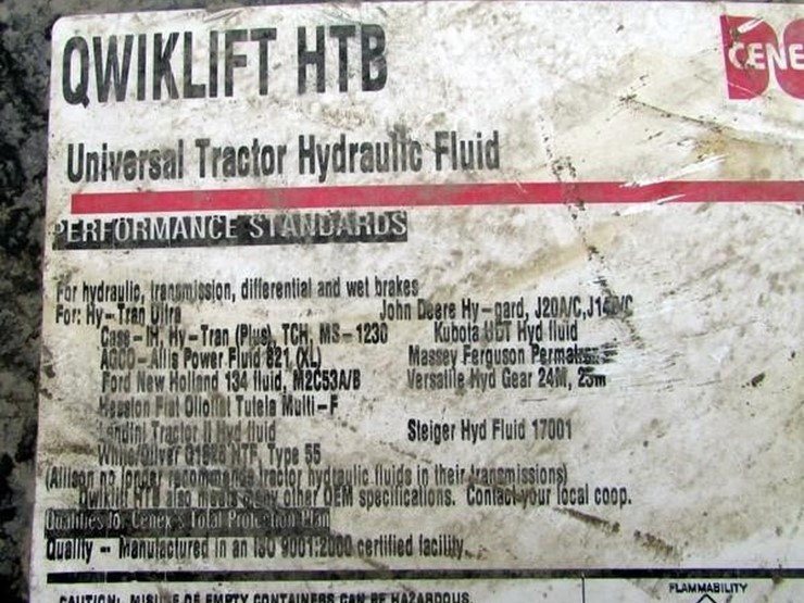 L-232 55 Gallon Universal Hydraulic Fluid - Lot #, Online Only Ag
