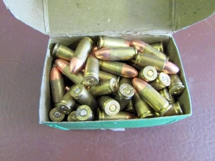 L-288 Luger 9mm Ammunition (8) - Lot #, Online Only Ag