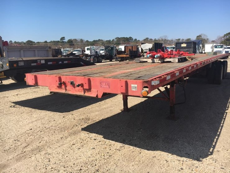 2001 FONTAINE EXTENDABLE FLATBED TRAILER VN:595683 equipped