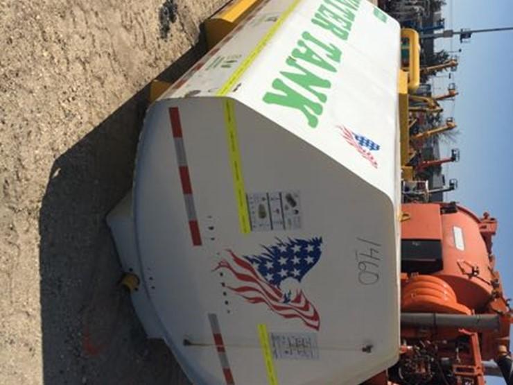 NEW MAROTTA MATTEO 2000 GALLON WATER TRUCK BODY trapezoid