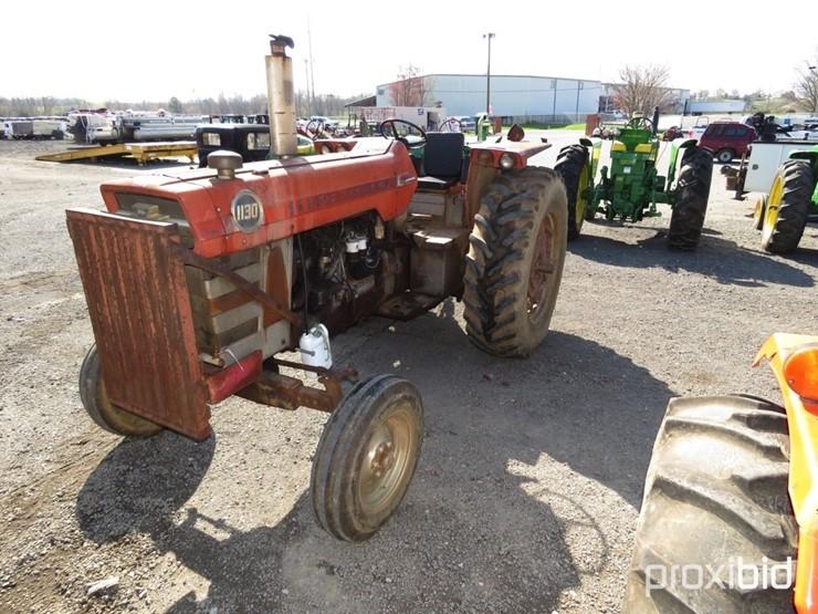 Massey-Ferguson 1130 - Lot #889, Equipment Auction, 4/6/2019