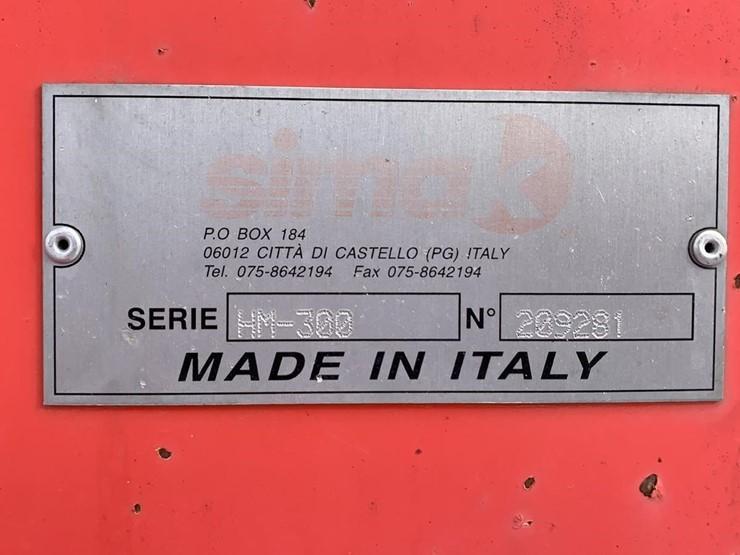 Italian Made Hay Tedder