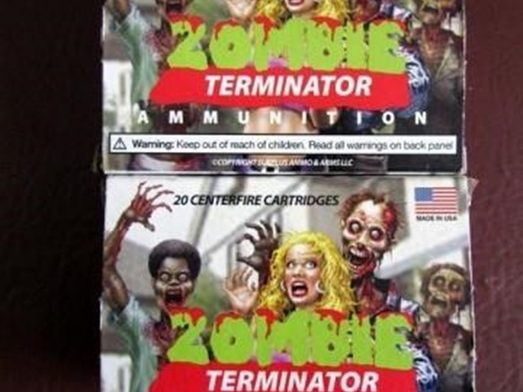 L-502 10 MM Ammunition & Clip - Lot #, Online Only Ag