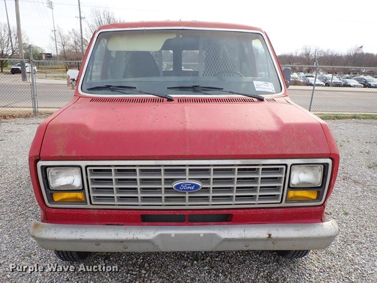 1983 Ford E150 - Lot #DF8873, Online Only Government Auction