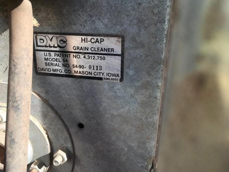 DMC Hi Cap 54 grain cleaner