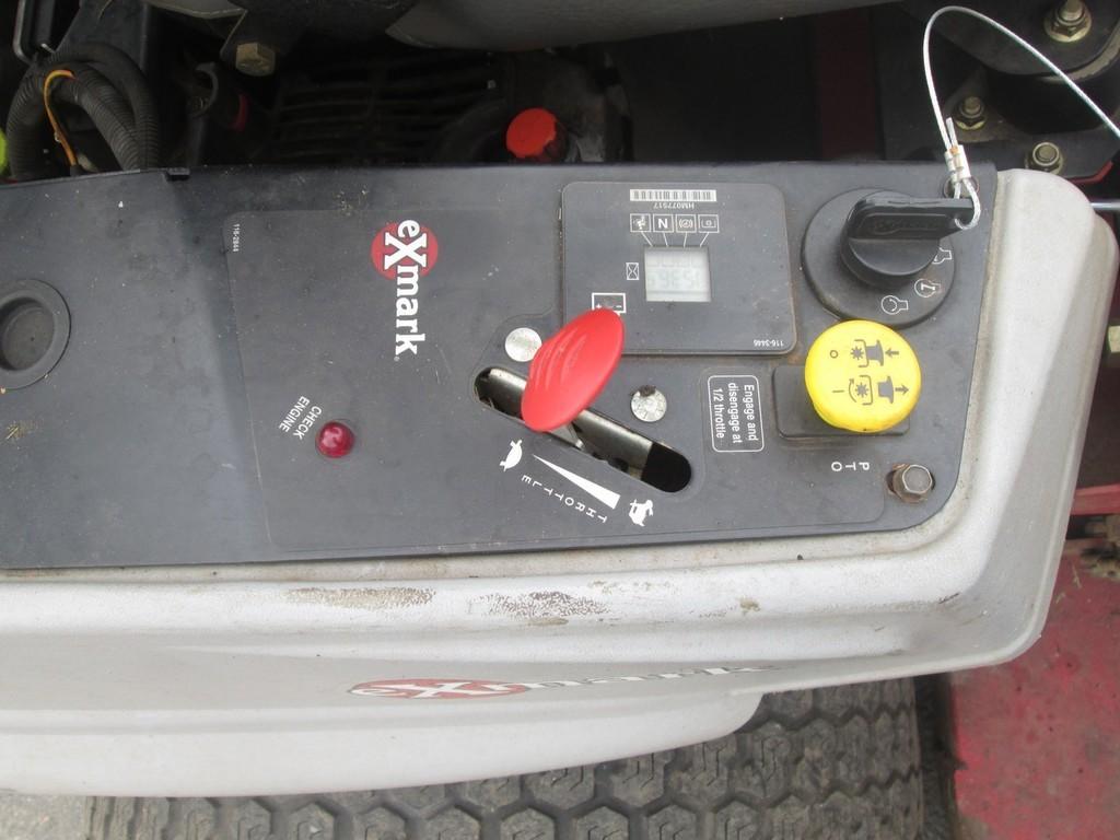 Exmark S-Series Lazer Z Zero Turn Mower - Lot #882, Public Equipment