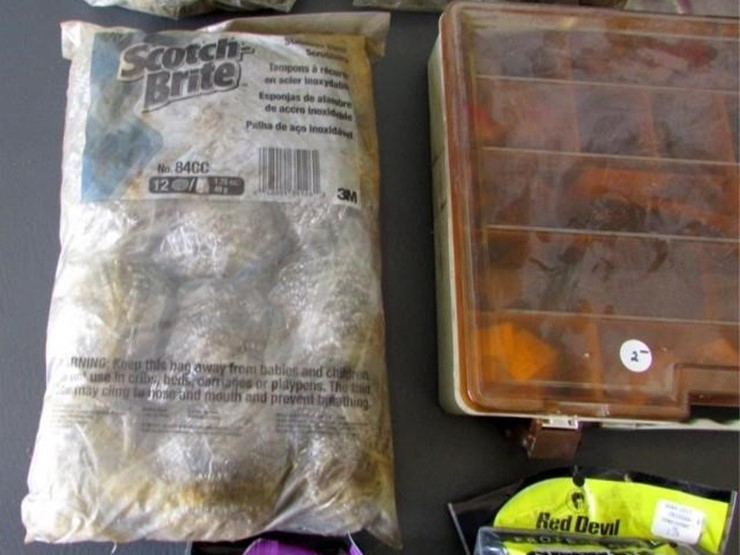 L-681 Tape & Steel Wool & Hardware - Lot #, Online Only Ag