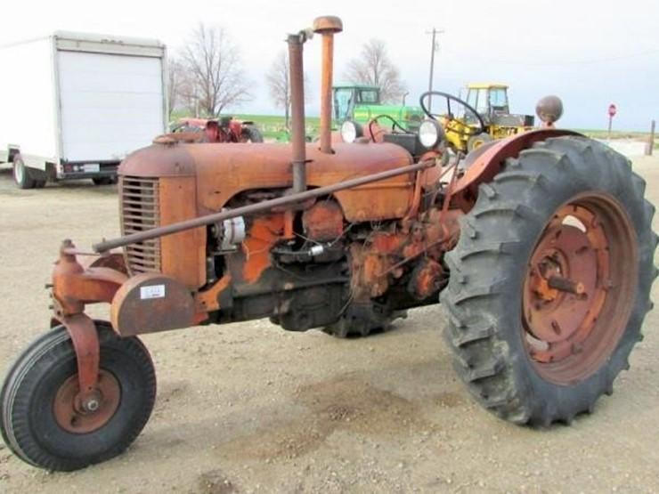 L-614 1950 J I  Case DC Tractor - Lot #, Online Only Ag