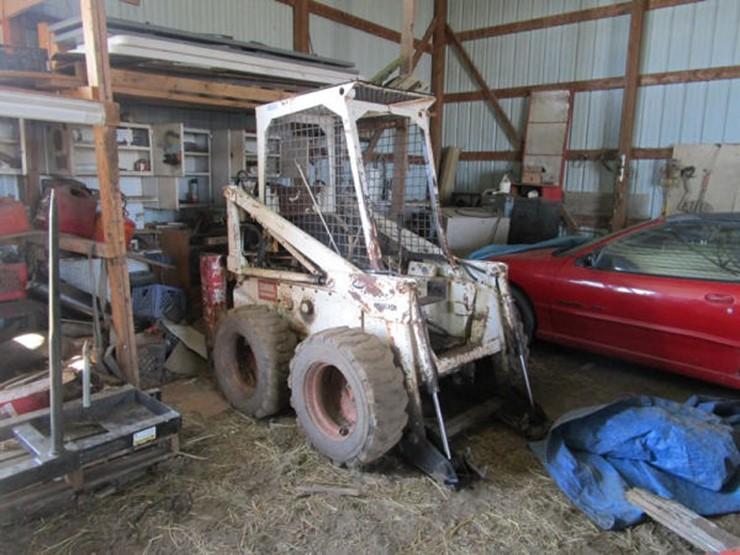 Bobcat M610 - Lot #129, Online Only Equipment Auction, 5/21