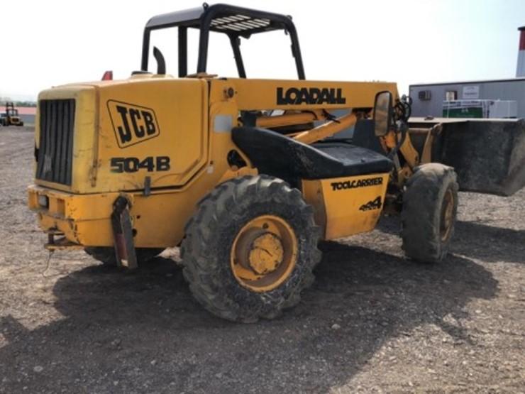 1996 Jcb 504B - Lot #632, Farm Equipment Auction, 5/18/2019