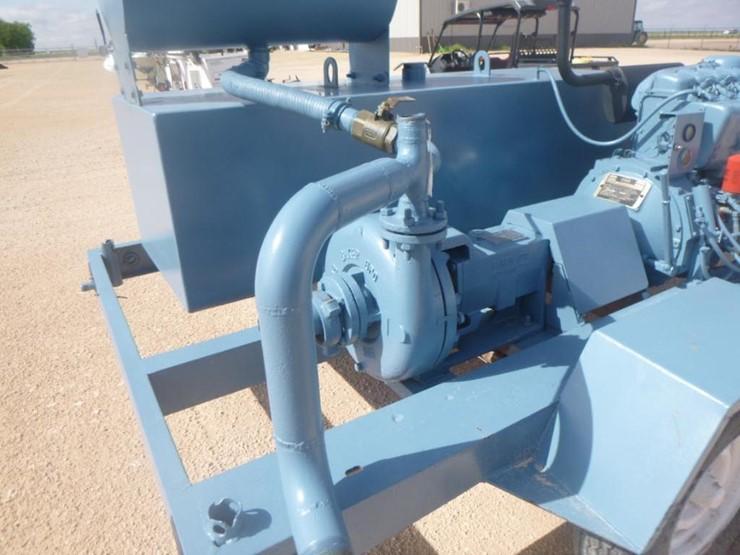 Baker 2 5 Water Pump - Lot #42, Equipment Auction, 5/21/2019