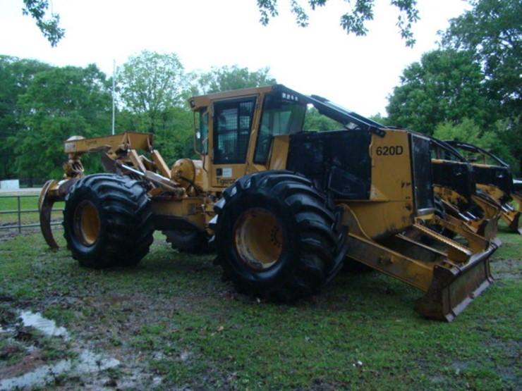 2012 620D TIGER CAT SKIDDER - Lot #384, Equipment Auction, 5