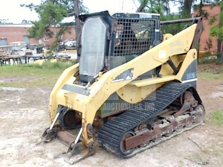 Caterpillar 287B Lot Public Auction Blanchard