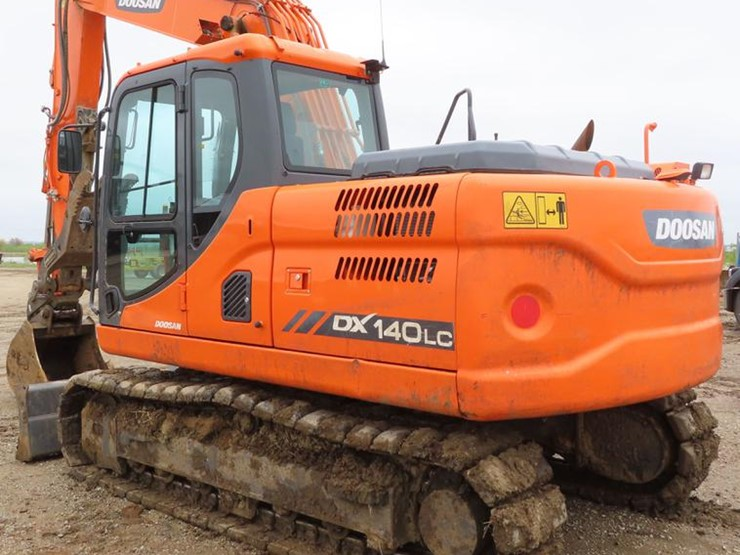 2015 Doosan DX140 LC-3 - Lot #DE3464, Online Only Jim Miller