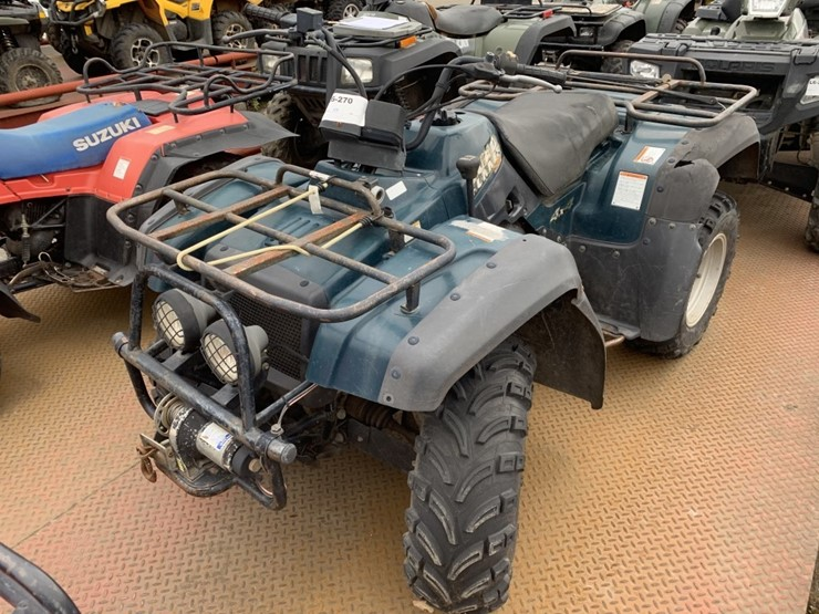 2001 Suzuki Quad Runner 4x4 ATV - Lot #TEMP6920, Heavy