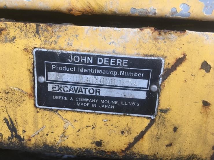 1997 John Deere 230 - Lot #TEMP2800, Heavy Equipment