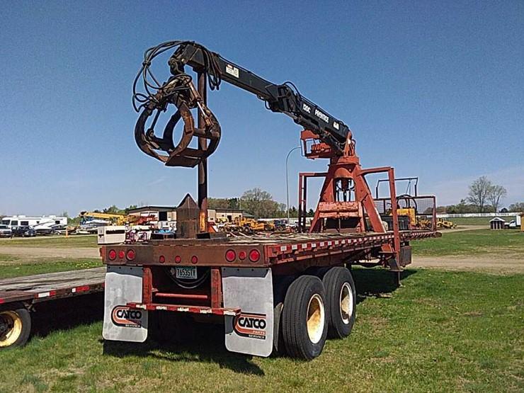 79 Monon TA Log Loader Trailer - Lot #4701, Equipment