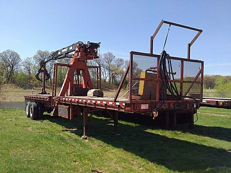 79 Monon TA Log Loader Trailer - Lot #4701, Equipment Auction, 6/8