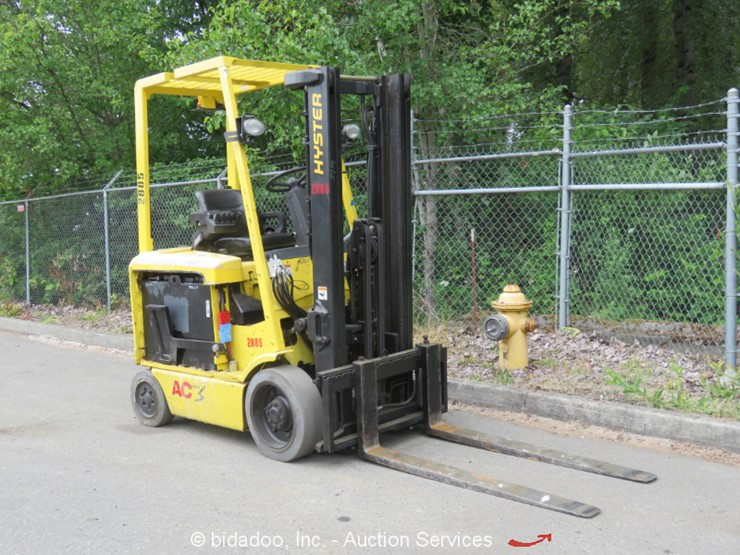 2006 Hyster E50Z-33 - Lot #, Online Only Weekly Equipment Auction, 6