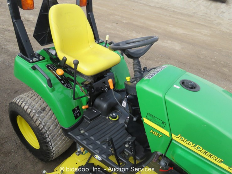 2010 John Deere 2305 - Lot #, Weekly Online Only Equipment