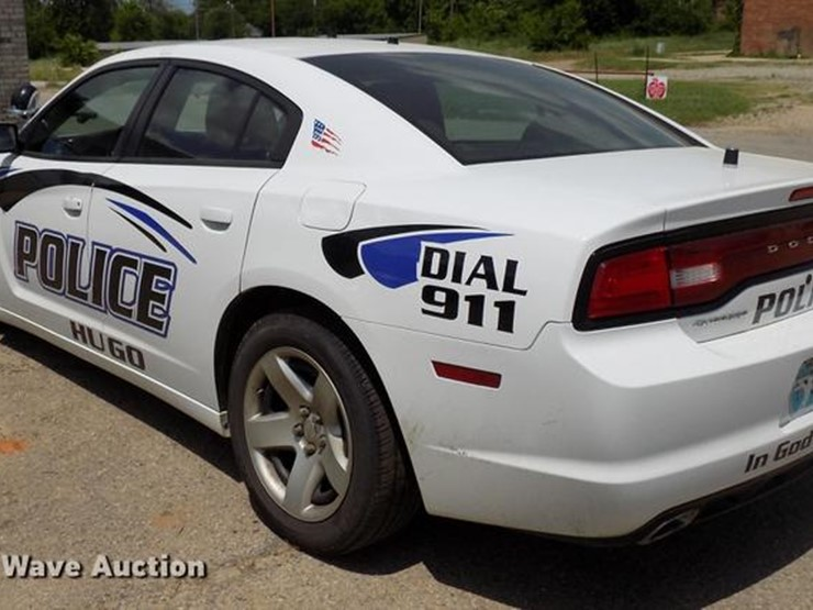 2013 Dodge Charger Police - Lot #DB9626, Online Only ...